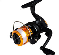 Fishing Reel Spinning Reels 2.6:1 1 Ball Bearings Exchangable General Fishing-200A