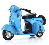 Motorräder Aufziehbare Fahrzeuge Auto Spielzeug 1:10 Metall Blau Model & Building Toy