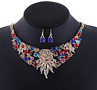 AAA Cubic Zirconia Statement Jewelry Fashion Luxury European Simulated Diamond Alloy Cross White Black Yellow Red Rainbow1 Necklace 1