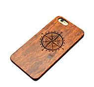 Für iPhone 6 Plus Hülle Hüllen Cover Rückseitenabdeckung Hülle Hart Hölzern für iPhone 6s Plus iPhone 6 Plus