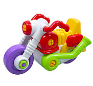 Motorcycle Toys Car Toys 1:50 Plastic Rainbow Model & Building Toy