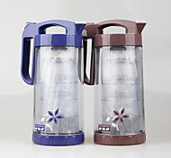 Set of 5 pcs Clear 1.6 Liter Ice Tea Pitcher with Handle