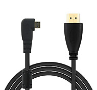 1080p HDMI Male to Micro HDMI Adapter Cable - (150cm)
