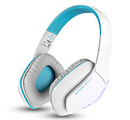 B3506 Foldable Bluetooth Sport Headset Wireless gaming headphone with Microphone for iPhone PS4 PC Computers Laptops(White)