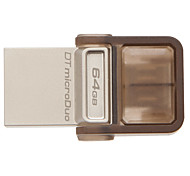Kingston DTDUO 64GB USB 2.0 Flash Drive OTG Micro USB Mini Ultra-Compact