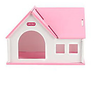 Rodents Hutches Plastic Blue Pink