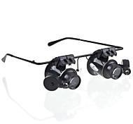 20 mm Lupas Auricular y Micrófono Genérico Joyas Detector de Billetes Falsos Reparación de Relojes Equipos y Herramientas Uso General
