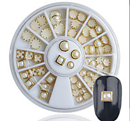 Nail Art Decoration Rhinestone Bordure Pearls Makeup Cosmetic Nail Art Design
