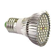 15W E27 LED Grow Lights 40 SMD 5730 800-1200 lm UV (Blacklight) Red Blue AC85-265 V 1 pcs