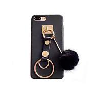 Para Manualidades Funda Cubierta Trasera Funda Un Color Dura Policarbonato para Apple iPhone 7 Plus iPhone 7