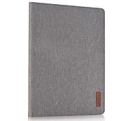 Для со стендом Кейс для Чехол Кейс для Один цвет Твердый Искусственная кожа для Apple iPad 4/3/2