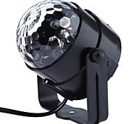 1PC New genaration LED Crystal Magic Ball 3W Mini RGB Stage Lighting Effect Lamp Bulb Party Disco Club DJ Light