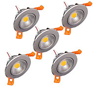 5PCS High Quality 5W Dimmable Led Celling Downlight Include the Drive