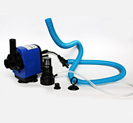 Acuarios Bombas de aire Bombas de agua Filtros Silencioso Ajustable Plástico AC 220-240V