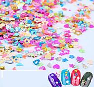 5000pcs Nail Art Decoration Rhinestone Pearls Makeup Cosmetic Nail Art Design