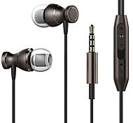 3.5mm Metal Magnetic In-Ear Earphone For iPhone 4 4S 5 6 7 Plus Samsung LG Mp3 MP4 PC Game Anti-sweat Earphones