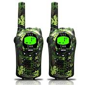 Armee für Kinder Walkie-Talkies 22 Kanäle und (bis zu 5 km in offenen Bereichen) armygrün Walkie-Talkies für Kinder (1 Paar) t668