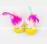 Cat Toy Pet Toys Teaser Feather Toy Mouse Textile