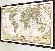 Натюрморт Винтаж Наклейки Простые наклейки Декоративные наклейки на стены,Бумага материал Съемная Украшение дома Наклейка на стену