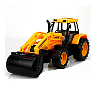 Construction Vehicles Pull Back Vehicles 1:25 Plastic Yellow