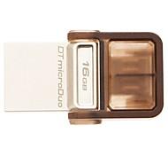 Kingston USB 3.0 Dual OTG  Flash Drive DTDUO3 For Android Phone 16GB Mini Usb Flash Drive Original