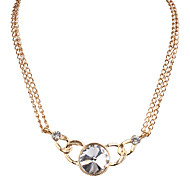 Fashion accessories metal jewel Necklace 0456# all-match concise temperament
