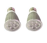 5W E14 E27 Lampes Horticoles LED 5 LED Haute Puissance 450-550 lm Rouge Bleu V 2 pièces