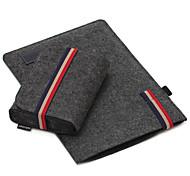 для Apple MacBook Air / Pro 13,3 15,4 дюйма рукава с зарядное пакет ноутбук сумка чувствовал себя простой досуг стиль сумка для ноутбука