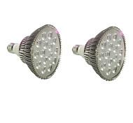 18W E27 Lampes Horticoles LED 18 LED Haute Puissance 1620-1800 lm Bleu Rouge V 2 pièces