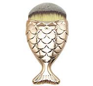1 Кисть для основы Синтетические волосы Офис Путешествия Антибактериальный Смола Лицо Прочее