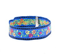 Choker Necklaces Fabric Fashion Bohemia Personalized Euramerican Light Blue Jewelry Daily Casual 1pc