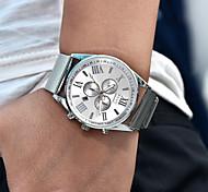 Hombre Mujer Niño Unisex Reloj Deportivo Reloj Militar Reloj de Vestir Reloj de Moda Reloj de Pulsera Cuarzo Calendario Punk Esfera Grande