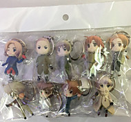 Anime Action Figures Inspired by Hetalia Cosplay PVC 6 CM Model Toys Doll Toy 1set