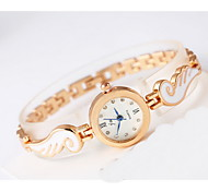 Women's Fashion Watch Quartz Alloy Band Cool Casual Rose Gold