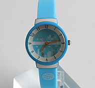 Fashion Watch Quartz / Silicone Band Casual Blue Brand