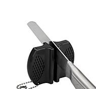 1шт домой и наружного использования мини-керамический стержень стали вольфрама лагеря карманы кухонный нож точилка Protable заточки