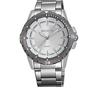 Sport Watch Wrist watch Quartz Alloy Band Black Grey