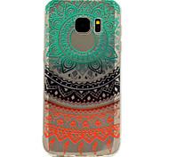 для Samsung Galaxy s8 плюс s7 радуги кружева печати рисунка мягкой TPU материал корпуса телефона s6 s8