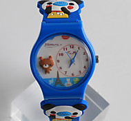 Fashion Watch Quartz / Silicone Band Cartoon Casual Multi-Colored Brand