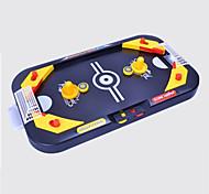 Mini Desktop Hockey Toys  Educational Toys For Children War Game  Leisure Hobby Toys Novelty Square Plastic Navy Blue For Boys For Girls