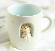Оригинальные Стаканы, 350 ml BPA Free Керамика Телесный Молоко Кофейные чашки Чашки для путешествий