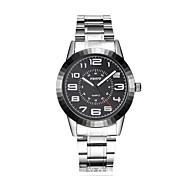 Men's Dress Watch Fashion Watch Quartz Alloy Band Silver