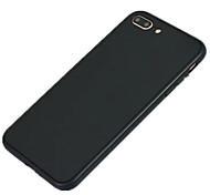 For IPhone 7 Plus 7 6 Plus 6  Ultra-thin Case Full Body Case Solid Color Soft The Silicone