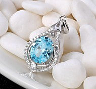 Pendants Crystal Crystal Basic Blue Jewelry Daily Casual 1pc