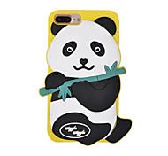 Para Antichoque Capinha Capa Traseira Capinha Desenho 3D Macia Silicone para AppleiPhone 7 Plus iPhone 7 iPhone 6s Plus iPhone 6 Plus