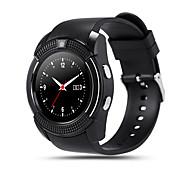 kimlink® v8 smartwatch камера сенсорный экран hands-free звонки шагомер дистанционное управление фитнес-трекер