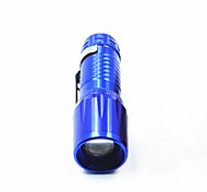 Aluminum Alloy Tube Telescopic 3 Stalls Bright LED Flashlight /1W/ Everyday Carry / Zoom