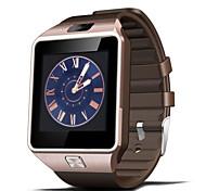 tela de toque dz09 inteligente companheiro relógio do telefone inteligente para iPhone iOS samsung android