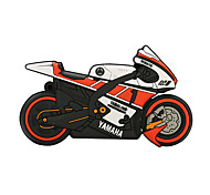 16GB motorcycle rubber USB2.0 flash drive disk