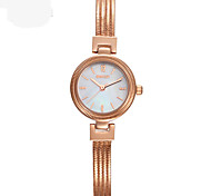 Fashion Watch Bracelet Watch Quartz Alloy Band Silver Gold Rose Gold